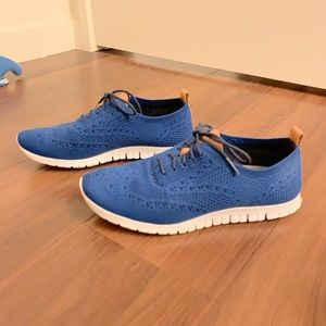 Cole Haan Zerogrand Stitchlite Oxford Shoes Blue